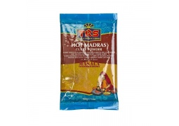 Curry Madras Ostre w Proszku (Hot Madras Curry Powder) 400g TRS