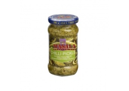 Indyjskie Pikle z Zielonego Chilli (Chilli Pickle) 300g TRS