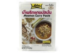 Pasta Masman Curry 50g Lobo