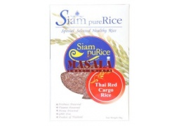 Ryż Czerwony Cargo (Thai Long Grain Red Rice) 1kg Siam Pure Rice