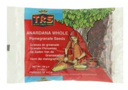 Suszone Pestki Granata Całe (Anardana Whole) 100g TRS